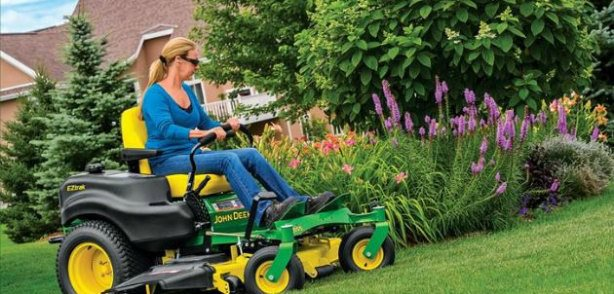 """Deere Season"" Special Discounts!"" on Select/EZ Trak/Signature Series Riding Mowers"