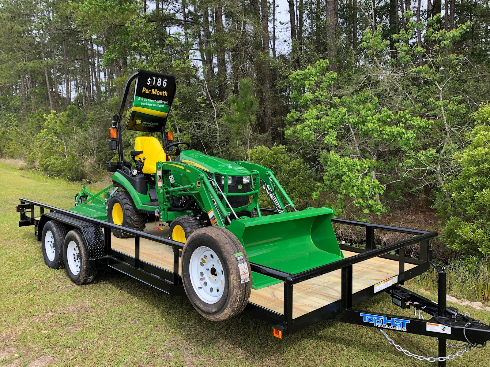Featured 1025R Tractor Package