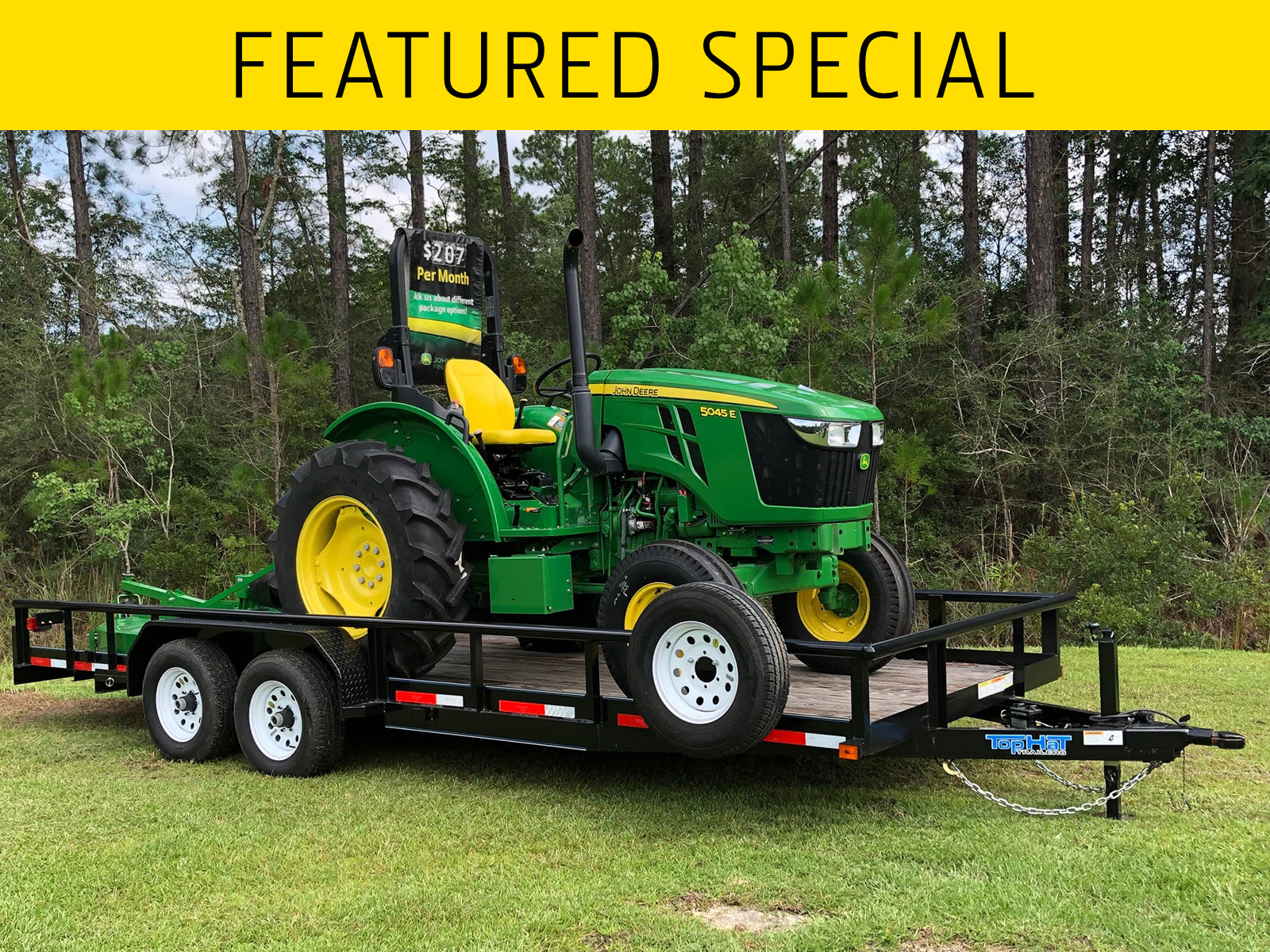 5045E 2WD Tractor Package