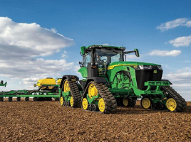 John Deere Reveals the New 8R, 8RT, and 8RX Series Tractors