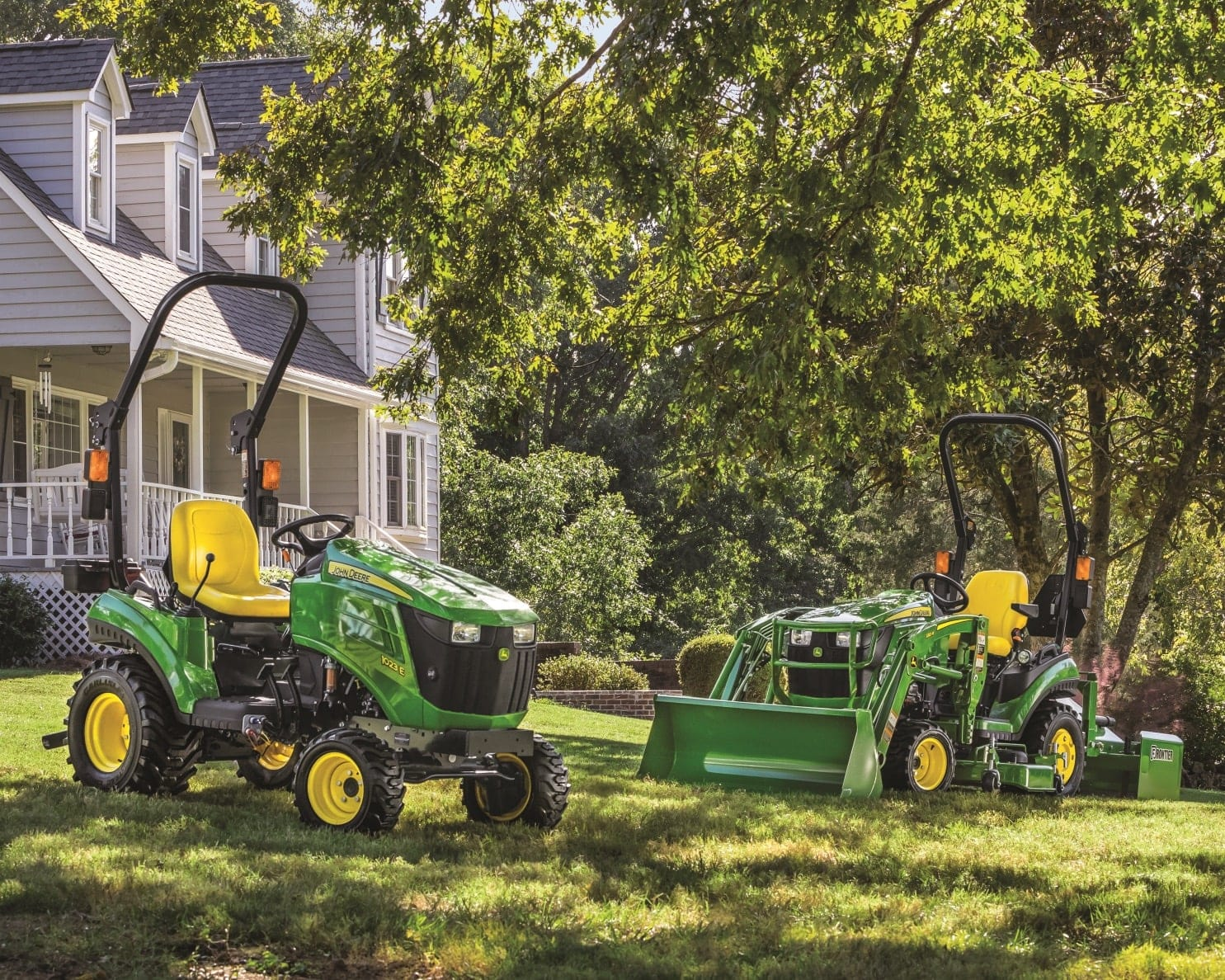 Sub-Compact Tractors: Getting to Know the 1 Series