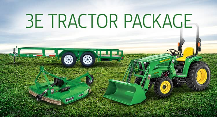 Featured 3025E Tractor Package