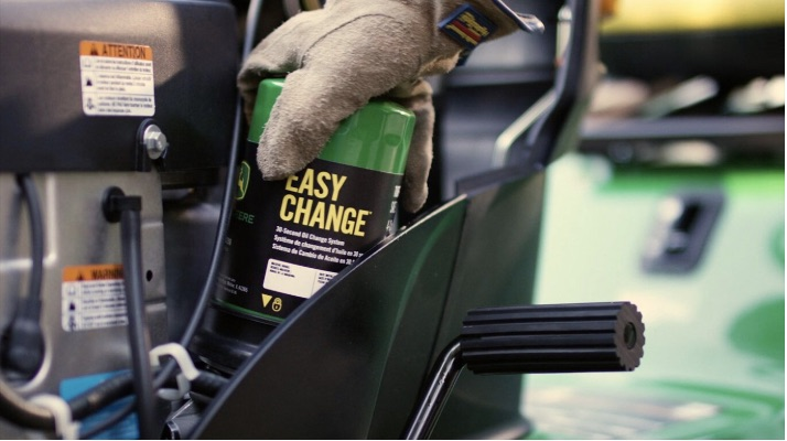 How to: Change Your John Deere 30-Second Oil Change Filter